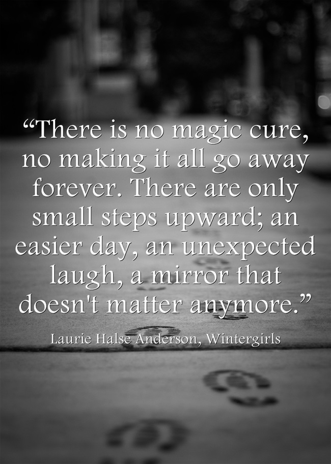 There is No Magical Cure